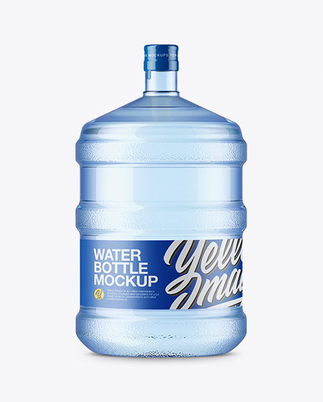 20l Plastic Water Bottle Mockup In Bottle Mockups On