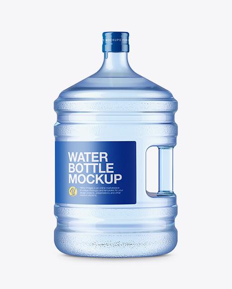 20l Plastic Water Bottle Mockup Side View In Bottle Mockups On