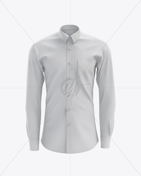 Men's Shirt mockup (Front View)