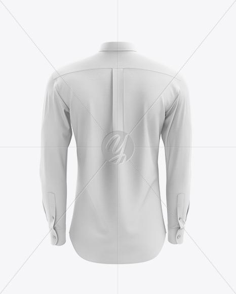 Men's Shirt mockup (Back View)