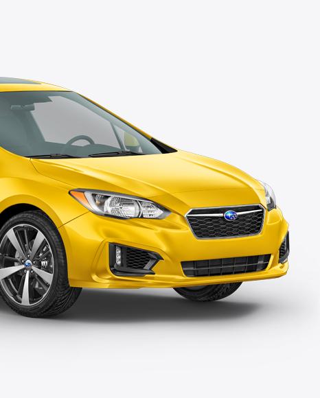 Download Subaru Impreza 2017 Mockup - Half Side view Object Mockups