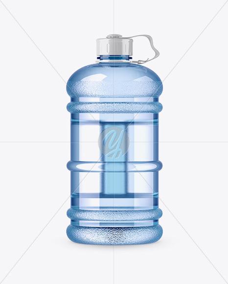 2.2l Gym Water Bottle Mockup