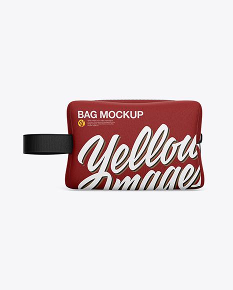 Bag Mockup - Back View