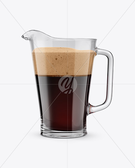 Stout Beer Pitcher Mockup