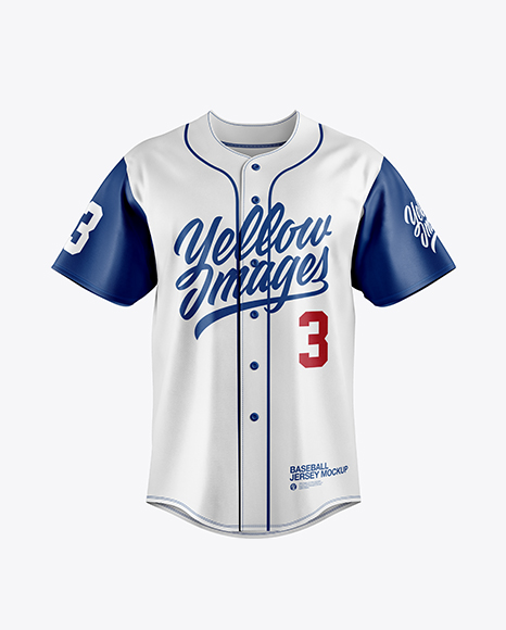 Men\'s Baseball Jersey Mockup
