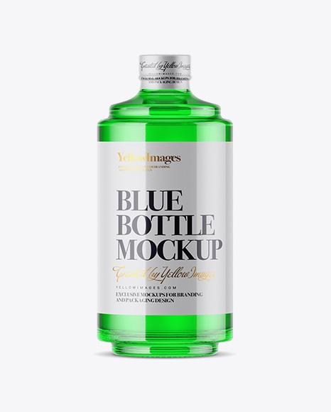 Download Glass Bottle W/ Liquor Mockup Object Mockups