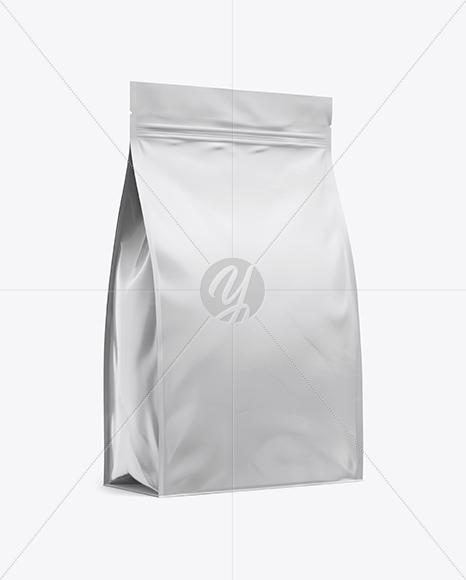 11lb Food Bag Mockup - Half Side View