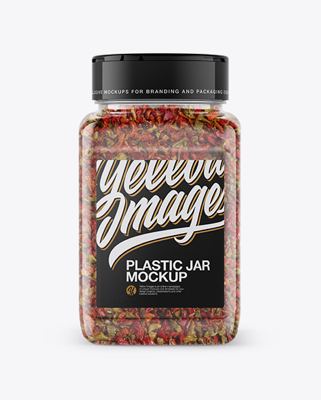 200g Plastic Jar with Pepper Flakes
