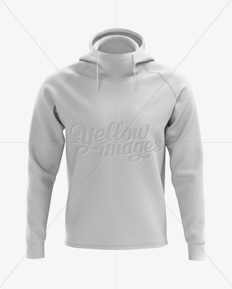 Men's Pullover Hoodie Mockup (Front View)