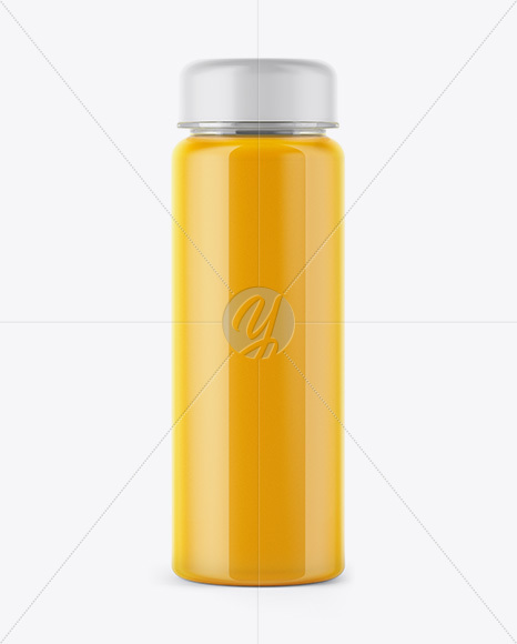 Orange Juice Bottle Mockup