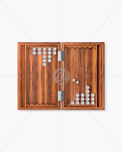 Download Backgammon Mockup - Top View Free Mockups