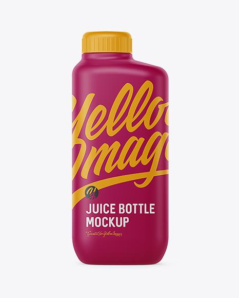 Download Matte Plastic Bottle Mockup Object Mockups