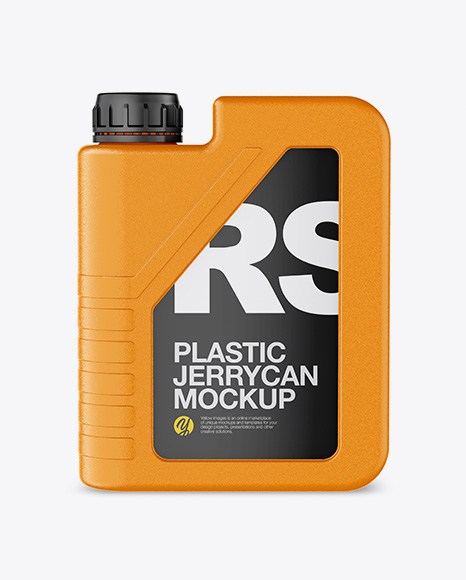 Download Textured Plastic Jerrycan Mockup Object Mockups
