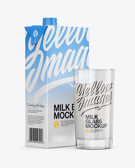 1L Carton Pack With Glass