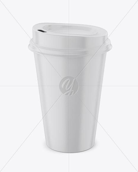 Regular Coffee Mug Mockup – Front View (High Angle Shot)