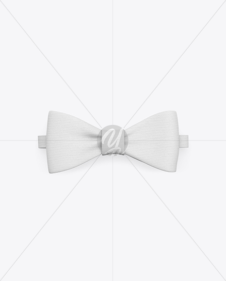 Download Satin Bow Tie Mockup Yellow Images