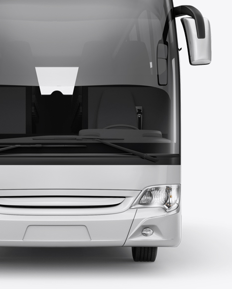 Mercedes-Benz Travego Mockup - Front View
