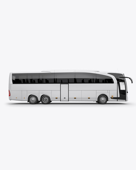 Mercedes-Benz Travego Mockup - Right Side View