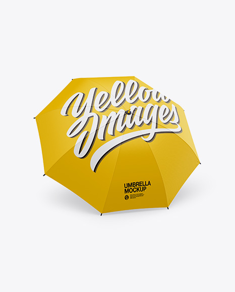 Umbrella - Half Side View