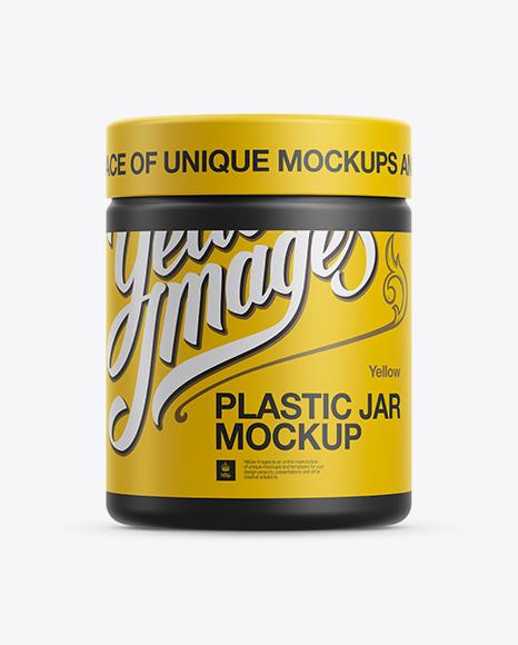 Download Matte Plastic Jar Mockup Object Mockups