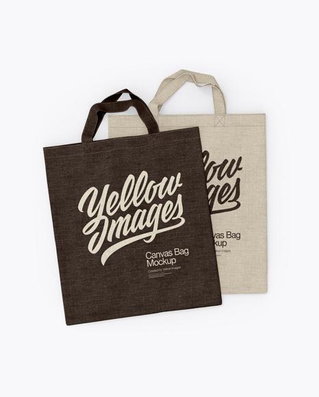 Canvas Bags Mockup
