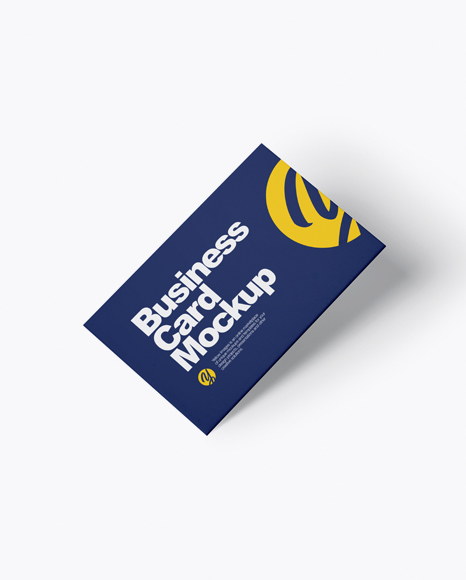 Business card mockup half side view in stationery mockups on business card mockup half side view colourmoves