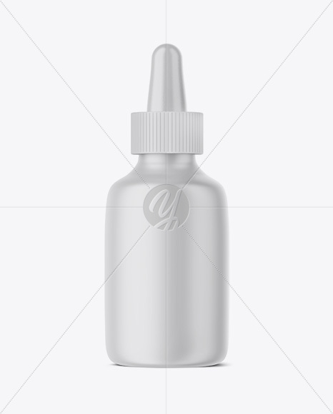 Matte Glass Dropper Bottle