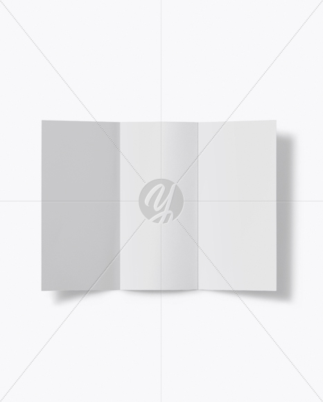 Download A4 Brochure Mockup - Top View Free Mockups