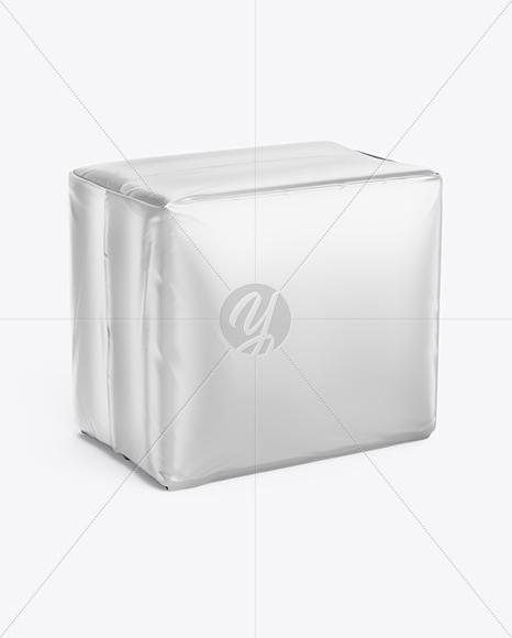 Matte Pads Package Mockup - Half Side View