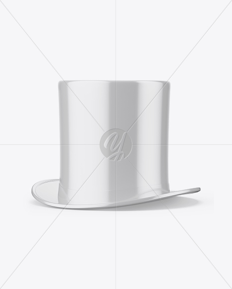 Download Glossy Hard Hat Mockup Front View Yellowimages