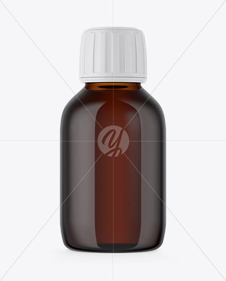 Download Amber Plastic Bottle Paper Box Mockup PSD - Free PSD Mockup Templates