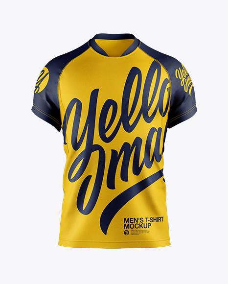 Men\'s T-shirt Mockup