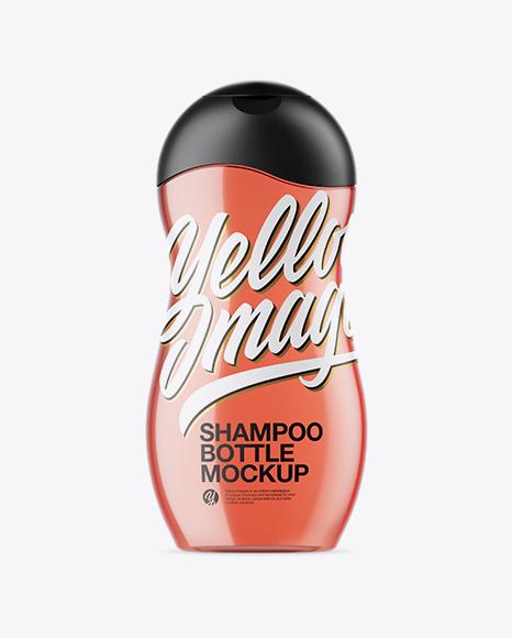 Download Red Shampoo Bottle Mockup Object Mockups