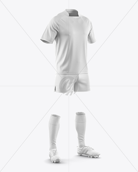 Download Cuffed Soccer Cleats Mockup Half Side View Yellowimages