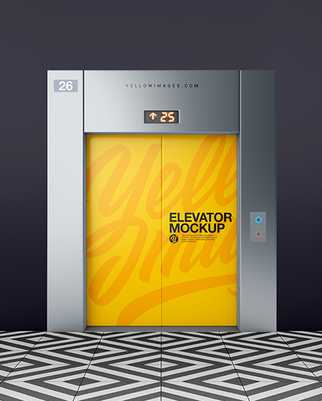 Download Elevator With Closed Doors Psd Mockup Psd Business Card Branding Mockup All Free Mockups Yellowimages Mockups