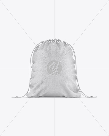 Leather Gym Sack Mockup