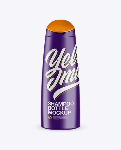 Shampoo Bottle 300ml (High-Angle shot)