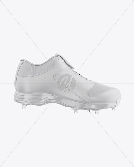 Download Baseball Sneaker Mockup Half Side View Yellowimages