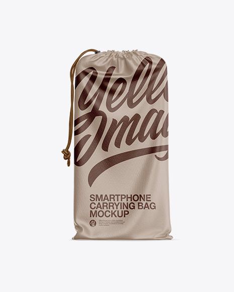 Download Leather Smartphone Carrying Bag Mockup Object Mockups