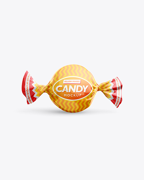 Download Candy Mockup - Front View Object Mockups