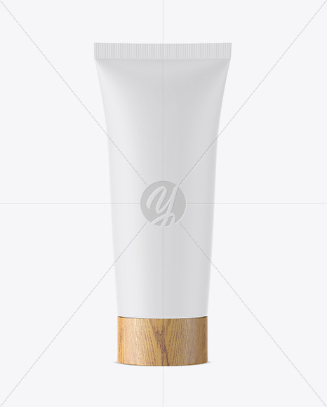 Matte Tube With Wooden Cap