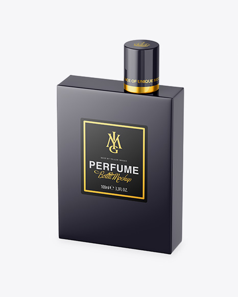 Perfume Bottle - Half Side