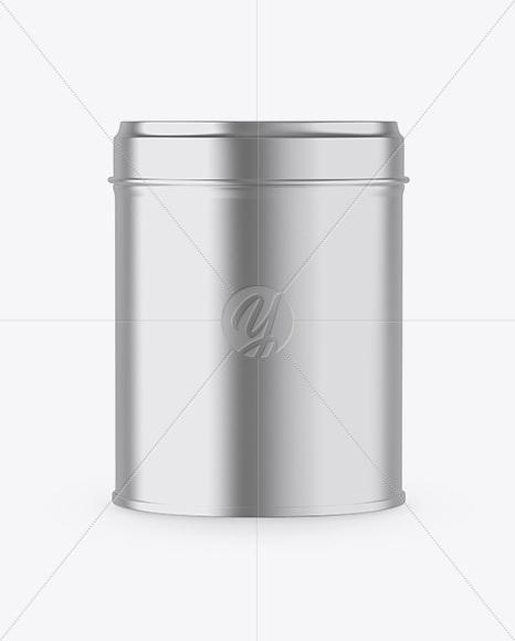 Download Matte Metallic Tin Box Mockup Free Mockups