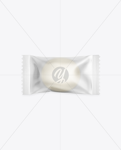 Candy in Frosted Pack Mockup