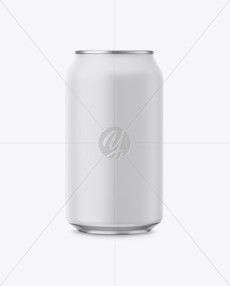 Download 12oz Matte Aluminium Can Mockup In Can Mockups On Yellow Images Object Mockups