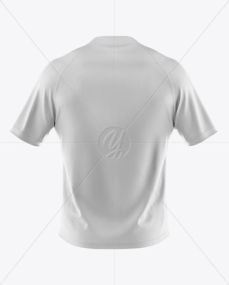 Men 39 s t shirt mockup back view in apparel mockups on for T shirt mockup front and back