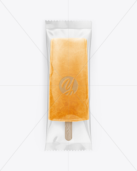 Ice Pop Mockup - Front View