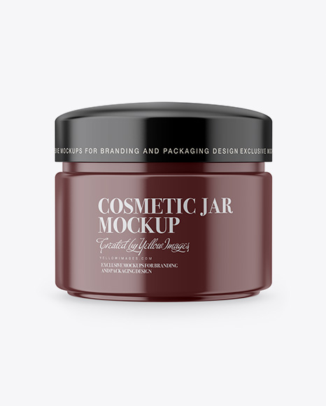 Download Matte Cosmetic Jar Mockup Object Mockups