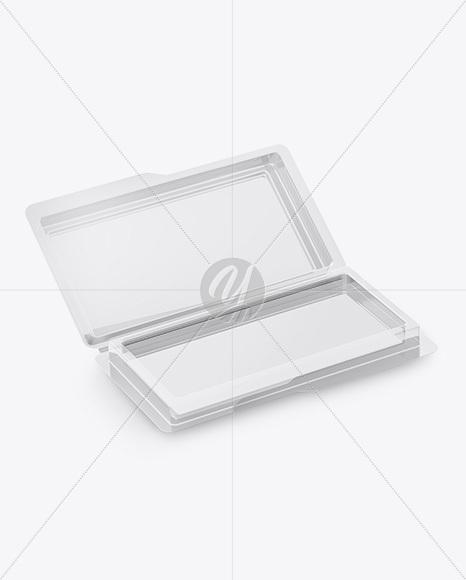 Download Opened Metallic Box Mockup Half Side View High Angle Shot PSD - Free PSD Mockup Templates
