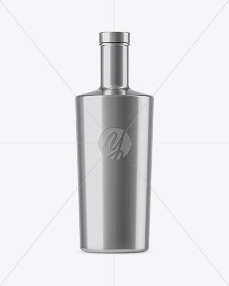 Download Glossy Jar With Metallic Cap Mockup PSD - Free PSD Mockup Templates